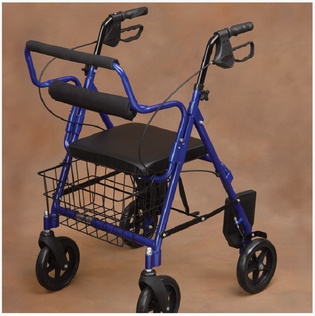 Transport Rollator Walker and Chair - FREE Shipping