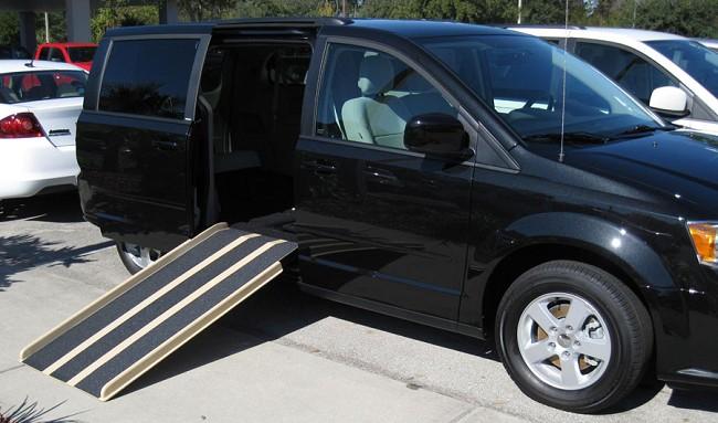 bce2cf2725 Portable Wheelchair Ramp for Vans - FREE Shipping