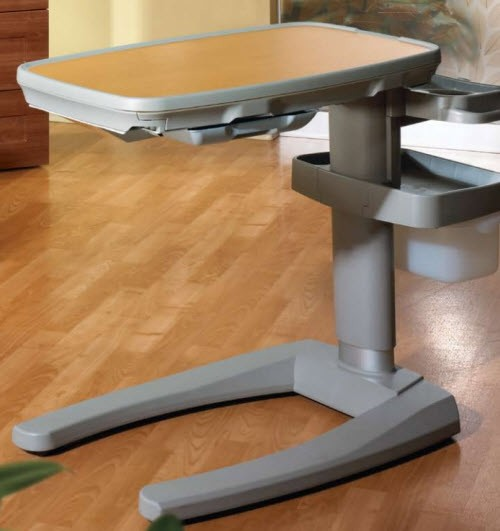 Overbed Table Hospital Bed Table Convenient Bed