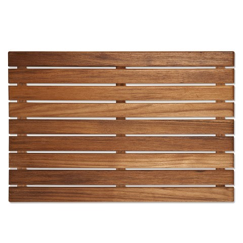 Bath Mats Shower Mats Bathtub Mat Teak Bath Mat
