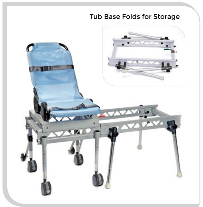 Access Bath Transfer and Commode System