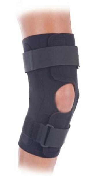 how to wear corflex knee brace