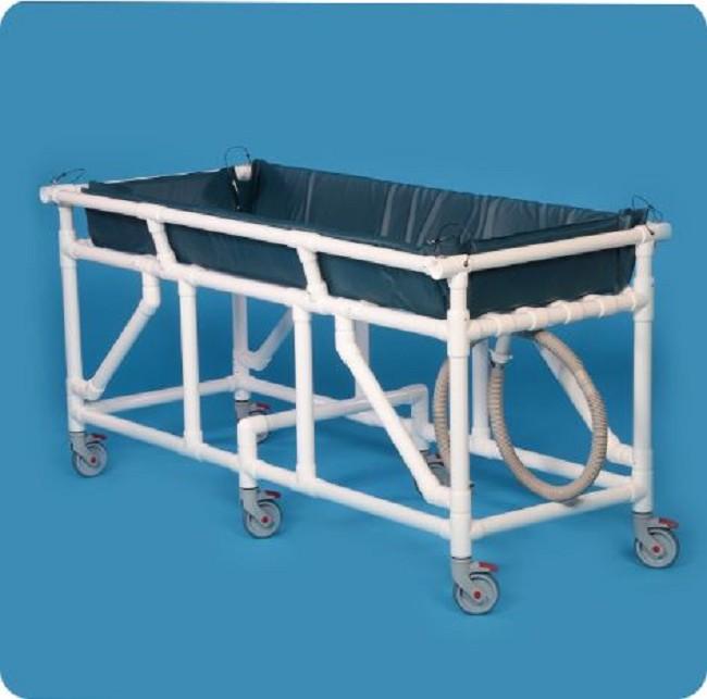 Heavy Duty Mobile Bath Gurney Bed - FREE Shipping