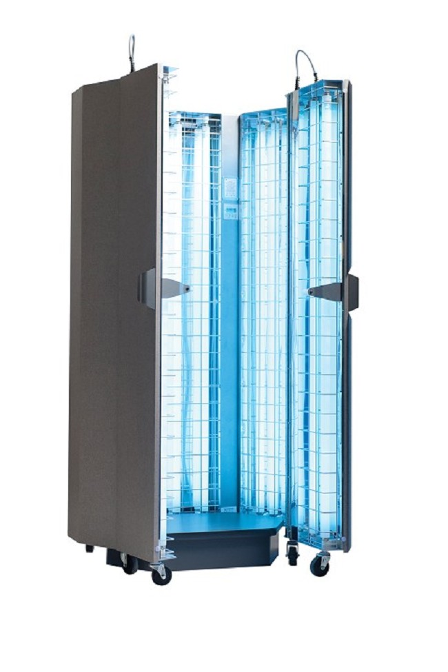 Ultraviolet Phototherapy Cabinet For The Treatment Of