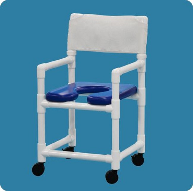 Soft Seat Rolling Shower Chair Free Shipping