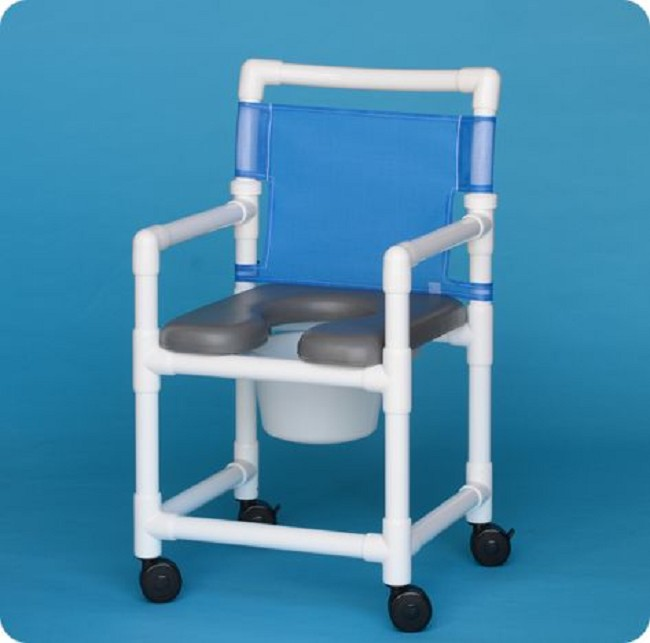 Soft Seat Shower Commode Chairs - FREE Shipping
