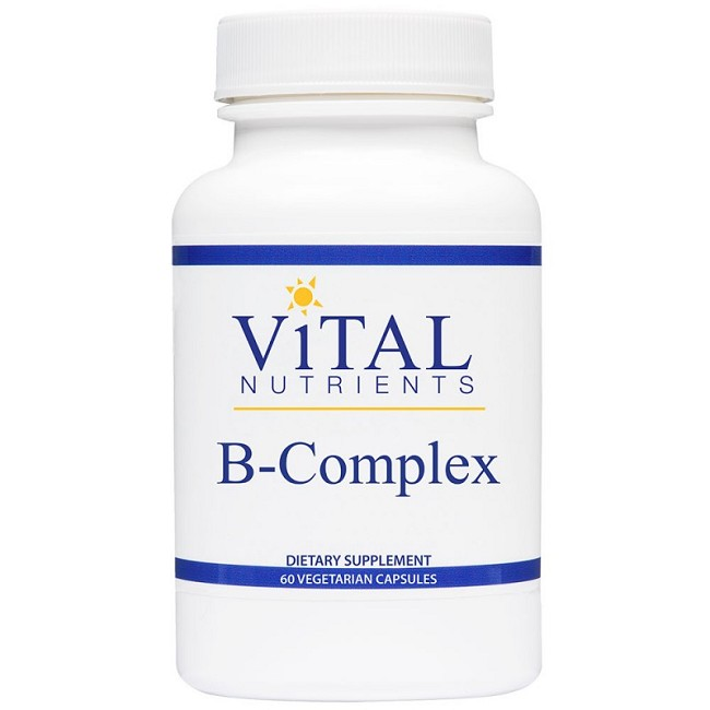 Vitamins For Energy >> B Complex For Cellular Energy And Nervous System Improvement
