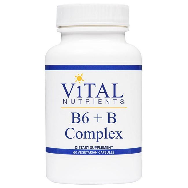 B6 Plus B-Complex Vitamin Supplement