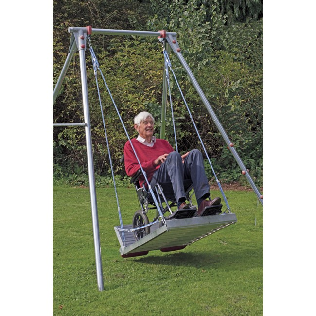 Wheelchair Platform Swing With Frame Free Shipping