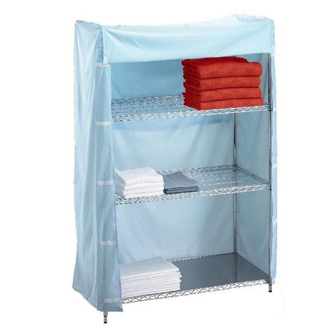 Linen Cart with Solid Bottom Shelf - FREE Shipping