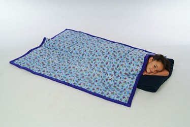 Weighted Multisensory Sparkling Gel Lap Pad