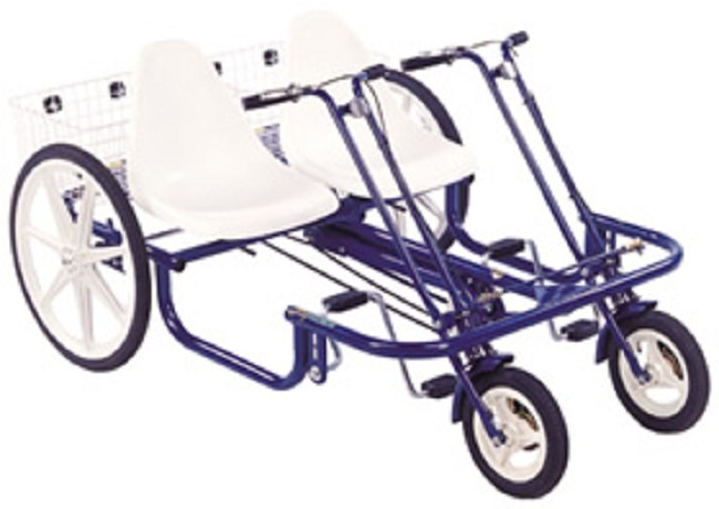 Trailmate Double Joyrider Tricycle Free Shipping