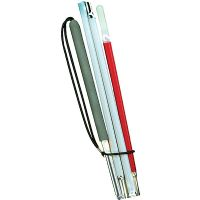 Europa Slim Aluminum Folding Cane - varied heights