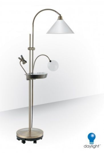 Heavy Duty Floor Stand With Casters Floor Lamp