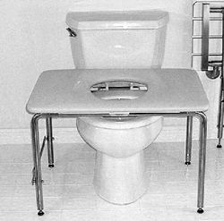 Residential Toilet Transfer Bench Patient Transfer