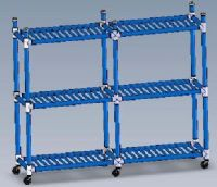 Duracarts Aquatic All Purpose Rack and Carts - 6 Shelf