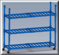 Duracarts Aquatic Double Length Wet Rack or Cart