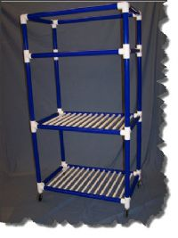 Duracarts Aquatic Multi-Use Wet Combo Rack or Cart