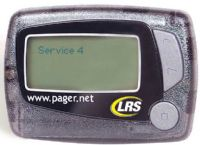 LRS RX-E467 Pager for the Hearing Impaired