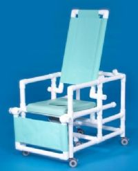 Deluxe Reclining Shower Chair Commode
