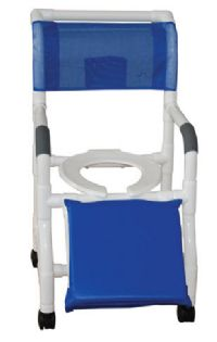 Shower Commode Chair for Below Knee Amputees