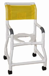 Shower Chair with Flared Stability Base