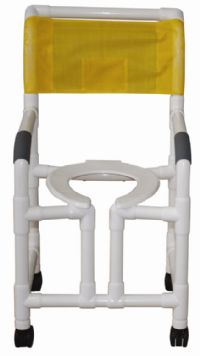 Heavy Duty Vertical Open Front Shower Chair
