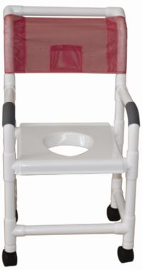 Shower Chair with Snap On Vacuum Seat