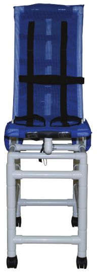 Large Articulating Bath Chair with Double Base and Casters