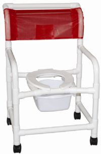 22 Inch Echo Shower Chair with Pail