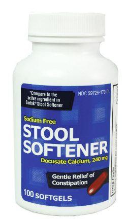 Docusate Calcium Stool Softener Enema Products