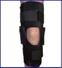 Active Knee Brace with Flexion and Extension Adjustments