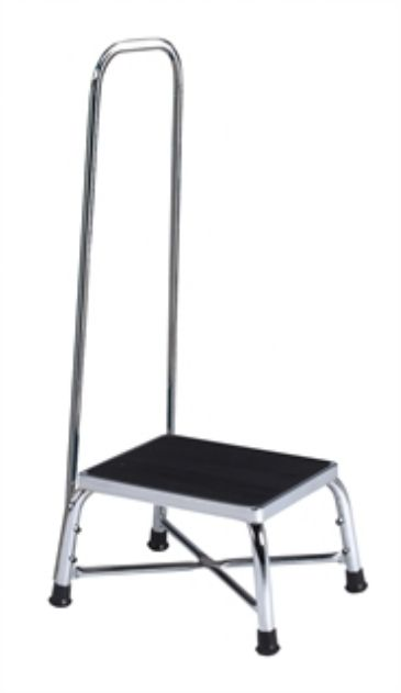 Clinton Chrome Two Step Step Stool Bariatric Step Stools