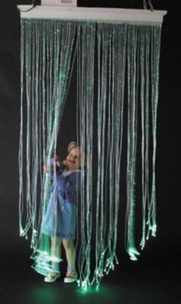 Shimmering Curtain Pediatric Visual Stimulation
